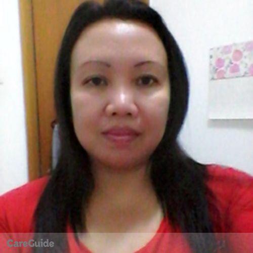 Canadian Nanny Provider Mylene Tacliad's Profile Picture