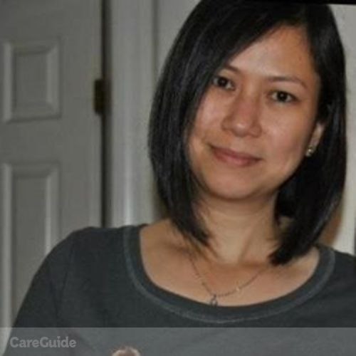 Canadian Nanny Provider Rosemarie Tadena's Profile Picture