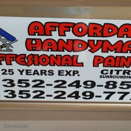 Handyman Provider Joedy Barry's Profile Picture