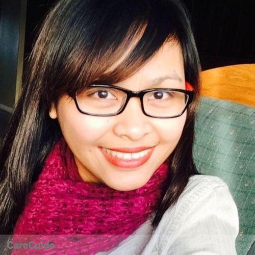 Canadian Nanny Provider Cherry Moreno's Profile Picture