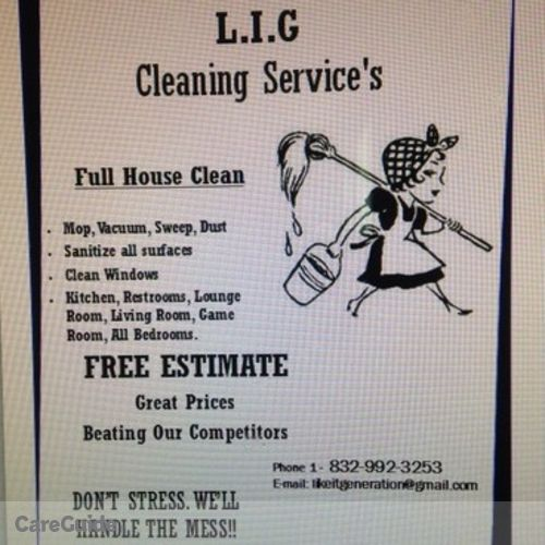 Housekeeper Provider L.I.G CleaningService's Profile Picture