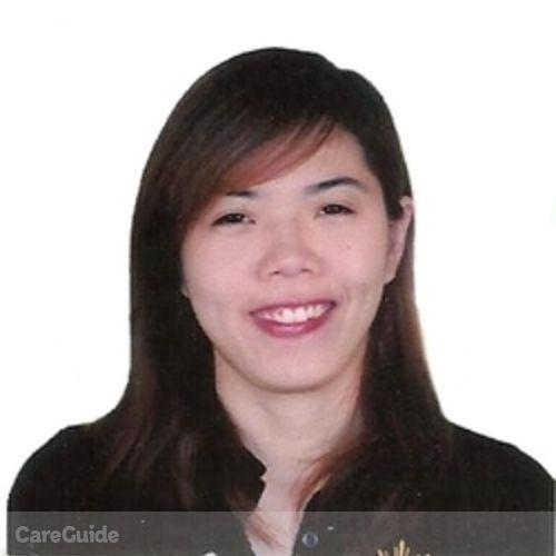 Canadian Nanny Provider Raizzah Mae Caliliw's Profile Picture