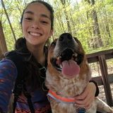 Hi! I'm Sam. I am an experienced dog walker, dog sitter, foster, and trainer with a big love for all animals!