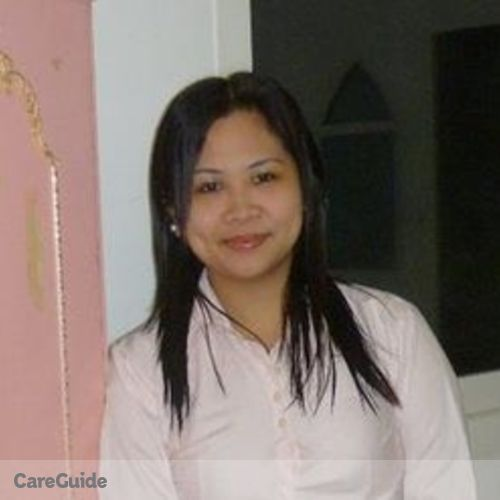 Canadian Nanny Provider Marbellie Galicinao's Profile Picture