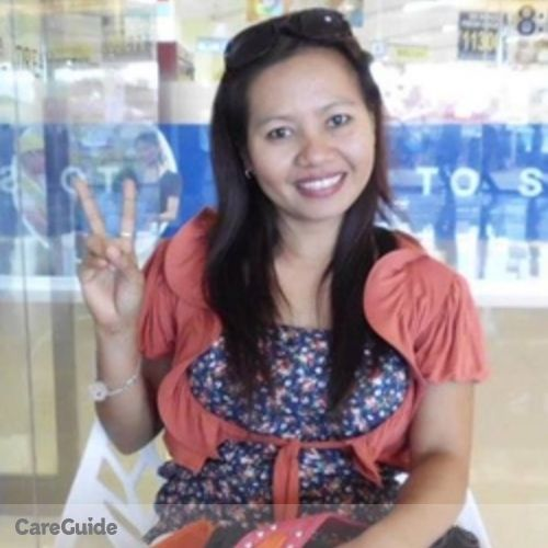 Canadian Nanny Provider Amparo P's Profile Picture