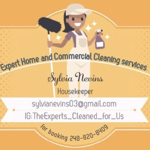 Housekeeper Provider Sylvia N's Profile Picture
