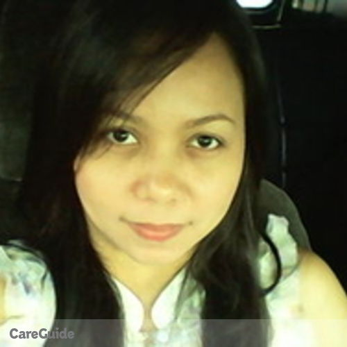 Canadian Nanny Provider Jennifer Galang's Profile Picture