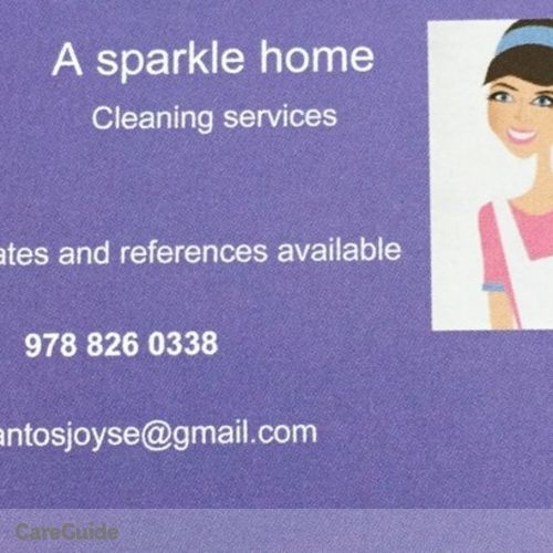 Housekeeper Provider Joyse S's Profile Picture