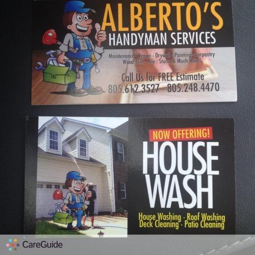 Handyman Provider Alberto Salcedo's Profile Picture
