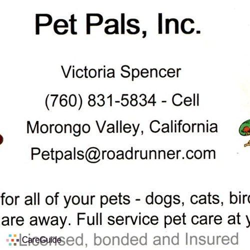 Pet Care Provider Victoria Spencer's Profile Picture