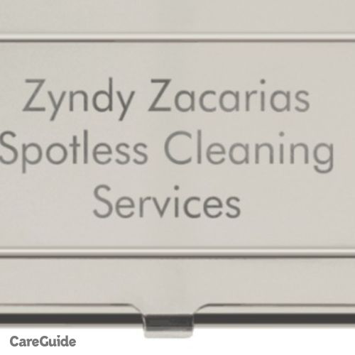 Housekeeper Provider Zyndy Zacarias's Profile Picture
