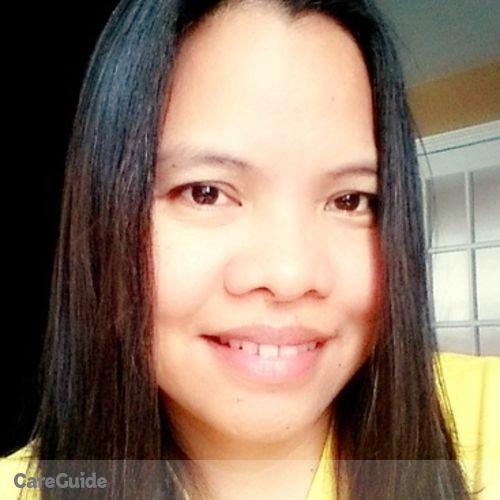 Canadian Nanny Provider Melba Peregrino's Profile Picture