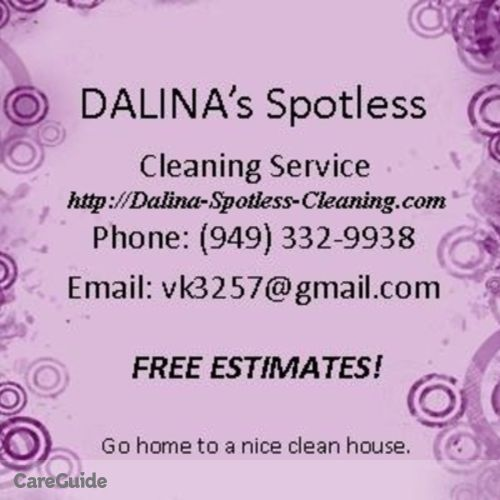 Housekeeper Provider Dalina Hudson's Profile Picture