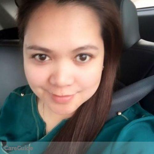 Canadian Nanny Provider Cristina Y's Profile Picture