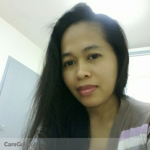 Canadian Nanny Provider Ma Liezel Almeda's Profile Picture
