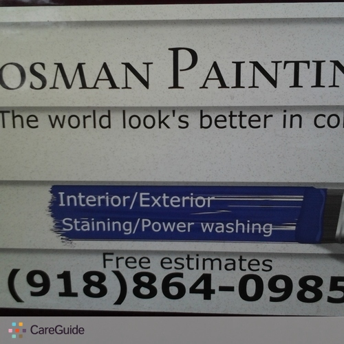 Painter Provider Tyler Kosman's Profile Picture