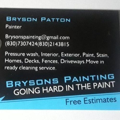 Painter Provider Bryson Patton's Profile Picture