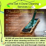 House Cleaning Company, House Sitter in Atoka