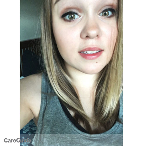 Canadian Nanny Provider Mikayla Luckie's Profile Picture
