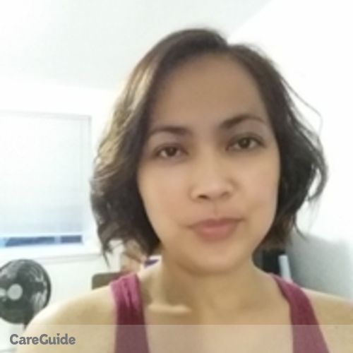 Canadian Nanny Provider Annabelle Magpantay's Profile Picture