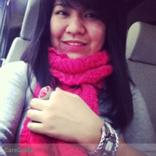Canadian Nanny Provider Jemima Salucop's Profile Picture