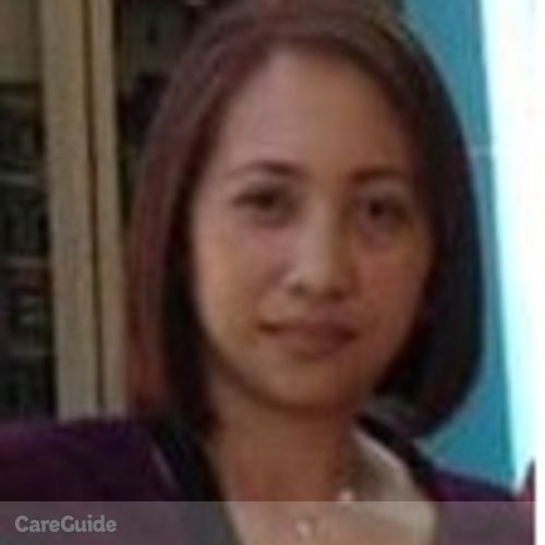 Canadian Nanny Provider Jennifer Bendicion's Profile Picture