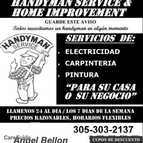 Electrician Provider Angel Bellon's Profile Picture