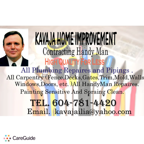 Handyman Provider Elijah K's Profile Picture