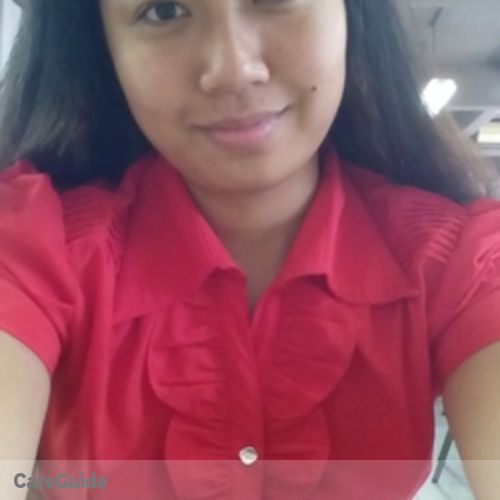 Canadian Nanny Provider Maria Cristina Mariano's Profile Picture