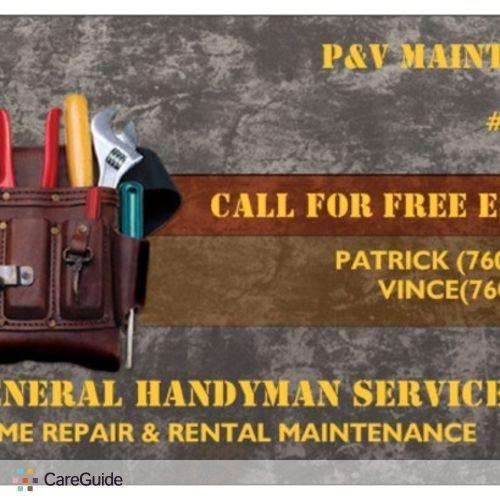 Handyman Provider Patrick Reyna's Profile Picture