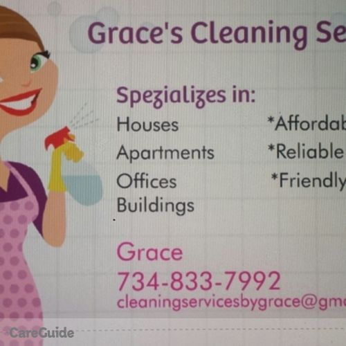 Housekeeper Provider Grace Lara's Profile Picture