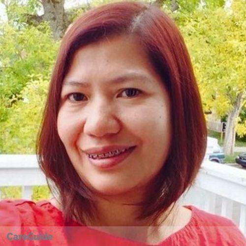 Canadian Nanny Provider Evangeline M's Profile Picture
