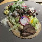 Creative Mexican female chef