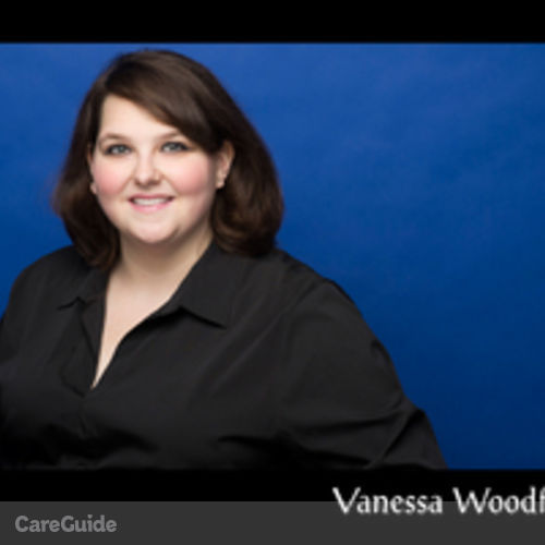Canadian Nanny Provider Vanessa Woodford's Profile Picture