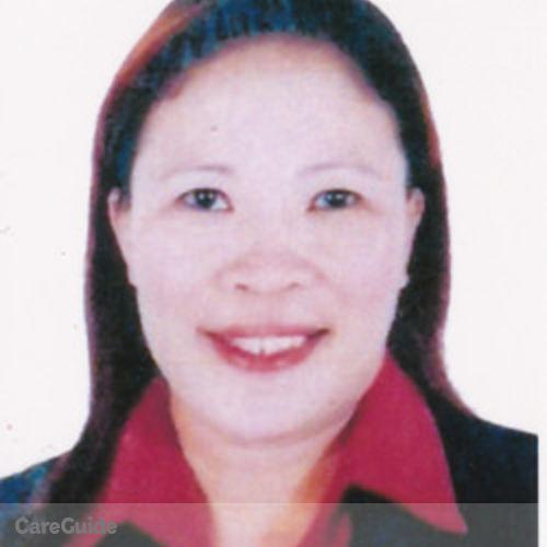 Canadian Nanny Provider Evelyn Serilla's Profile Picture
