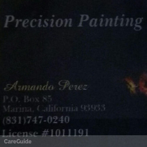 Painter Provider Armando Perez's Profile Picture