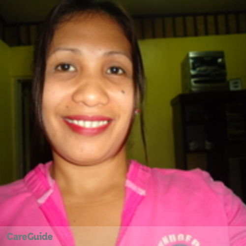 Canadian Nanny Provider Maribel Sarmiento's Profile Picture