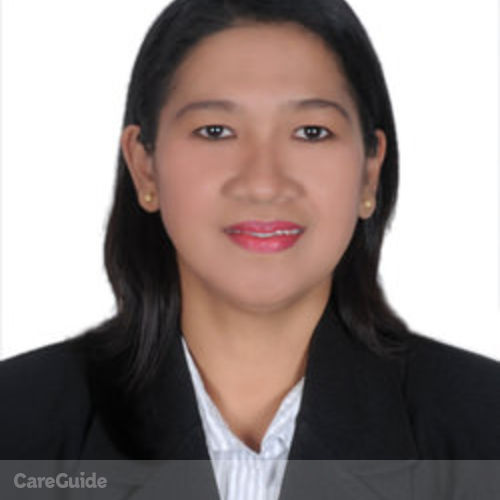 Canadian Nanny Provider Andrea Perez's Profile Picture