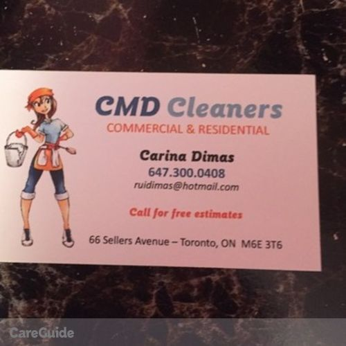 Housekeeper Provider Carina Dimas's Profile Picture