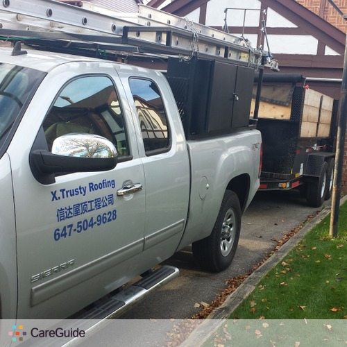 Roofer Provider X.Trusty Roofing's Profile Picture