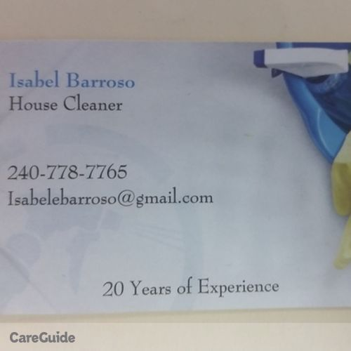 Housekeeper Provider Isabel B's Profile Picture