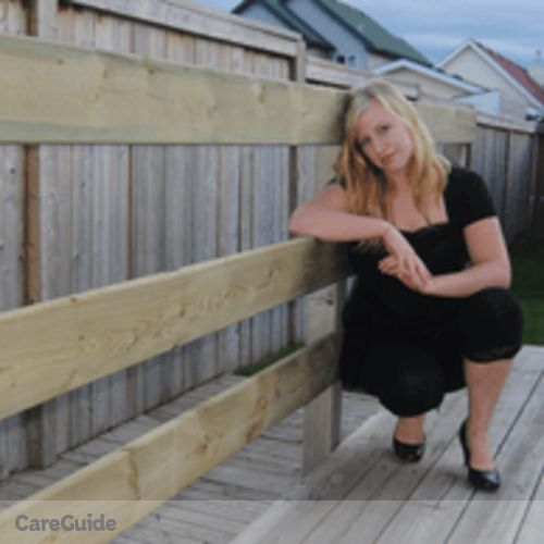 Canadian Nanny Provider Jacqueline Stock's Profile Picture