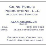 Bookkeeping, Budget, Consulting - Accounting Services