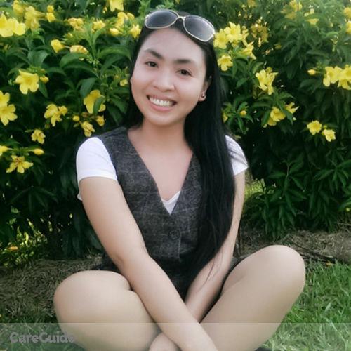 Canadian Nanny Provider Crisel Dela Cruz's Profile Picture