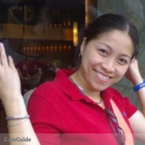 Canadian Nanny Provider Linda Caringal's Profile Picture