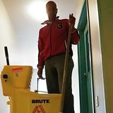 Carpet cleaning building office and apartments