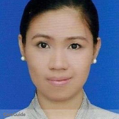 Canadian Nanny Provider Grace J's Profile Picture