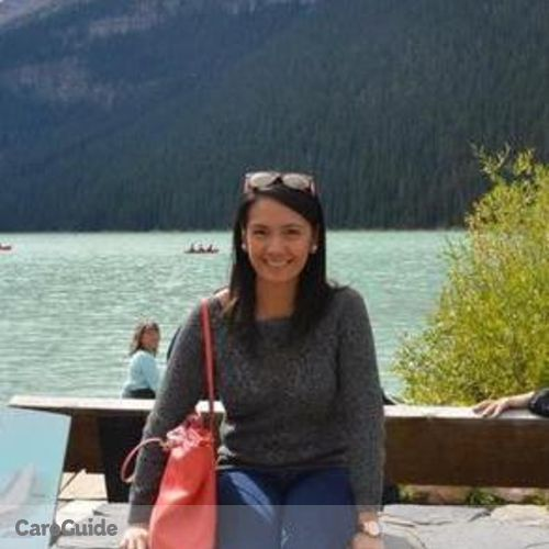 Canadian Nanny Provider Maria Isabel C's Profile Picture