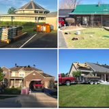 Shingle crew of 7 all tools & dump trailer & dump trucks got WC& GL Insurance Indianapolis