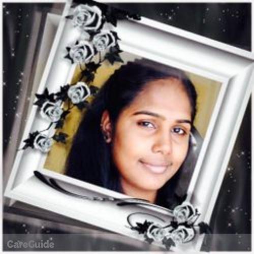 Canadian Nanny Provider Nimmi Raghunesh's Profile Picture
